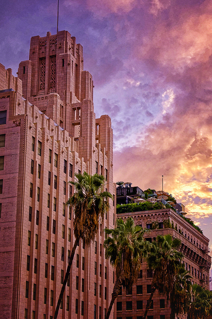 Pershing Square, Downtown, Los Angeles