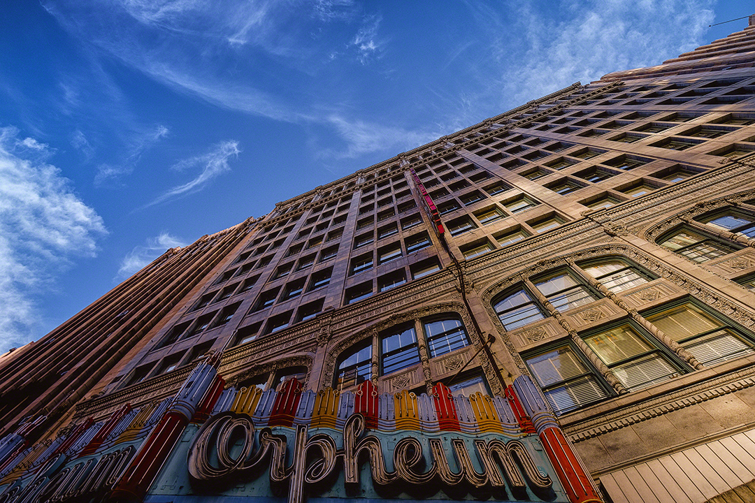 Along Broadway, Downtown, Los Angeles