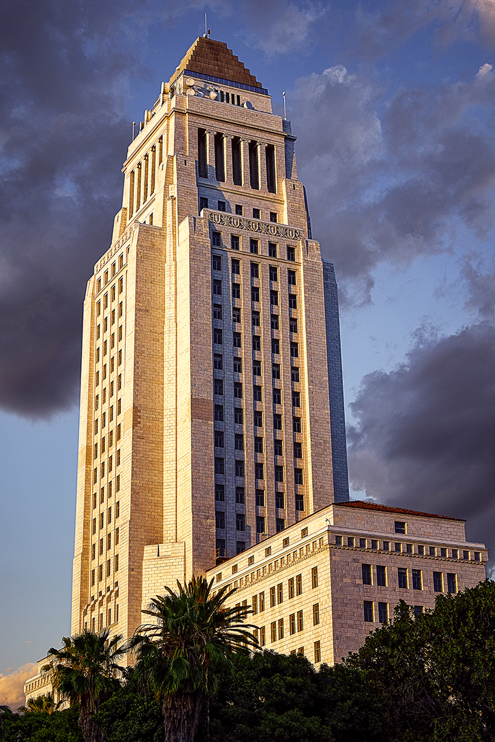 Los Angeles Sunset, Downtown, Los Angeles