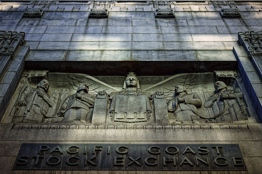 Los Angeles Stock Exchange Building, Downtown, Los Angeles